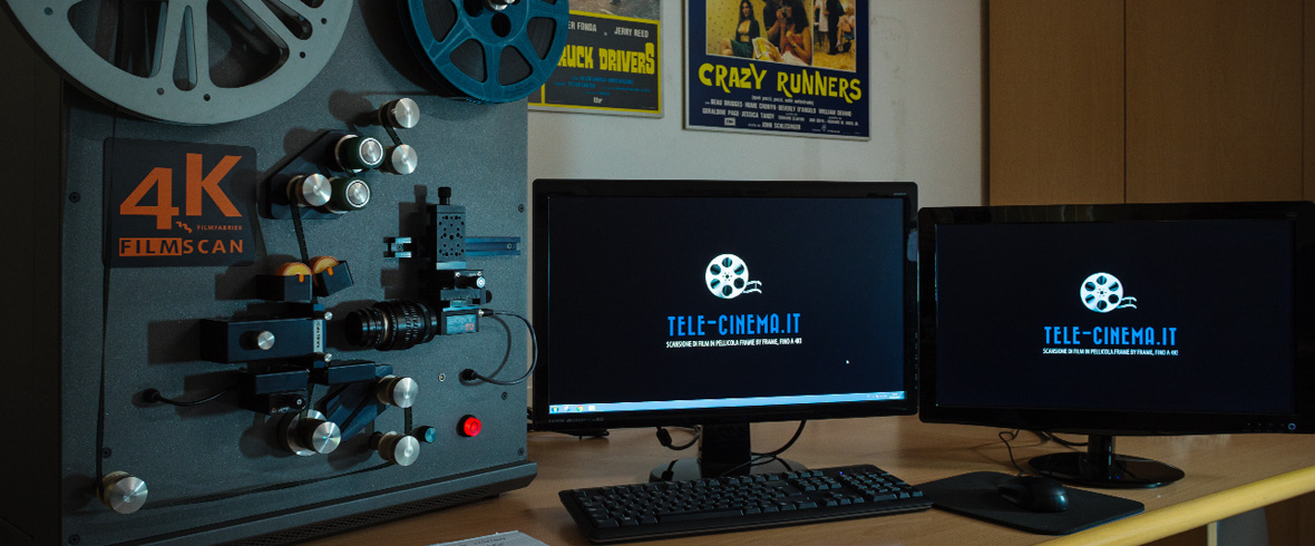 Telecinema Film Scanner